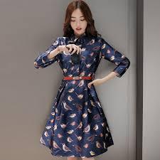 aliexpress com buy new 2016 fashion birds printed dress women