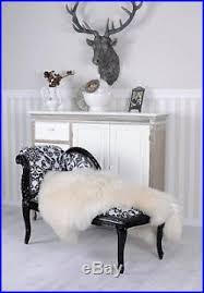 canapé récamier antique récamier nostalgique canapé baroque style chaise longue noir
