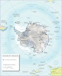 Physical Features Of Europe Map by Physical Map Of Antarctica Nations Online Project