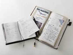 Traveler 39 s notebook camel passport size misc store