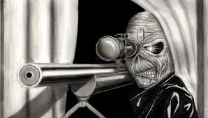 iron maiden eddie sniper by bluestormdragon on deviantart