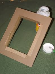 best 25 cardboard picture frames ideas on decorate