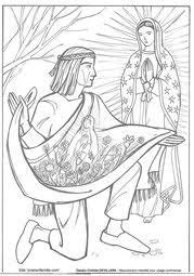 Coloriages Apparitions de la Sainte Vierge Marie  Le Chemin du Ciel