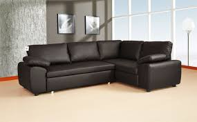 Leather Sofa Beds With Storage Carpet A Leather Corner Sofa Bed Is A Must In Any Home Sofa