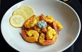 cuisiner curcuma frais gambas sautées curcuma frais et citron bergamote recette dukan