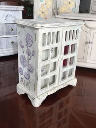 vintage jewelry box painted jewelry box upcycled shabby chic