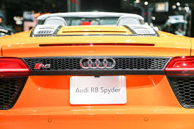Audi R8 Spyder Pictures Auto Express 2017 Audi R8 Spyder First Look Review Motor Trend