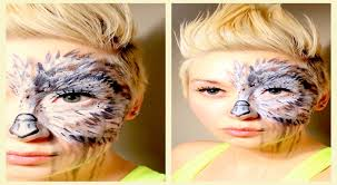 Owl Halloween Makeup by Owl Be The Judge Of That Makeup Tutorial Youtube