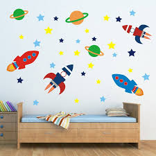 28 wall stickers space space planet wall stickers wall stickers space outer space wall sticker set by mirrorin