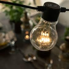bulbs clear 20 bulb led outdoor light set