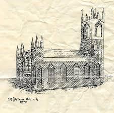 sketch of st peter u0027s in 1826
