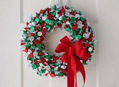 candy wreath chocolate truffle candy wreath christmas gourmet