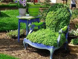 Creative Garden Decor 18 Creative Garden Ideas For Used Furniture As Garden Decorations
