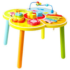 wooden activity table for ones wooden activity table