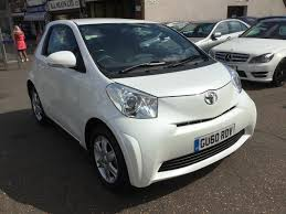 used toyota iq white for sale motors co uk