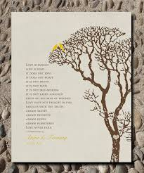 1 corinthians 13 wedding personalized custom 1 corinthians 13 birds family tree