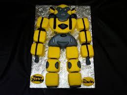 robot cake u2013 decoration ideas little birthday cakes