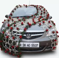 Wedding Car Decorations Wedding Car Decoration In Kolkata