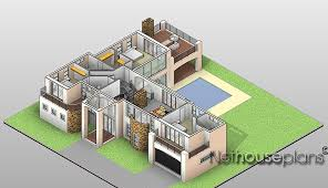 tuscan house plan t328d floor plans by modern 3 bedroom double story house plans escortsea