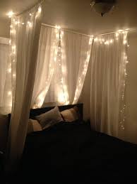 Light Bedroom Ideas Best 25 Bed Canopy With Lights Ideas Only On Pinterest Bed