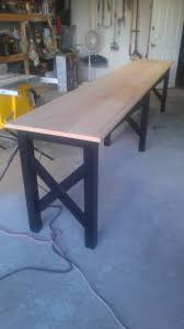 diy extra long sofa table best home furniture decoration