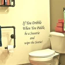 wall stickers for bathrooms