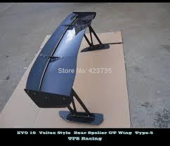 evo 10 spoiler lancer evolution evo 10 x voltex style type 5 carbon fiber rear