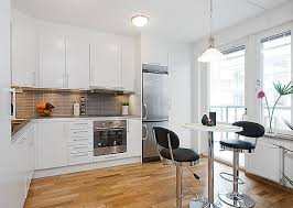 kitchens without islands l shaped kitchen without island completed with dining space in the