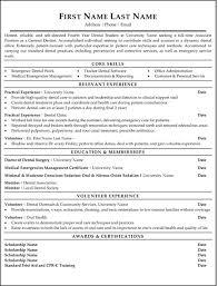 Resume Template Canada Lovely Idea Dentist Resume 2 Dentist Resume Sample Template