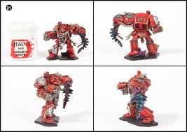 tutorial how to paint space hulk blood angel terminators tale