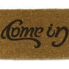 stylish front door mats popsugar home