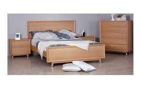 Oak Bed Frame Springwood White Oak Bed Frame With Suite Options