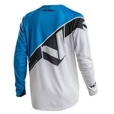 motocross jersey lettering vx 2 jersey blue fade white u2013 vexea mx