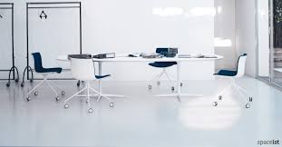 Large Oval Boardroom Table White Oval Meeting Tables Oval Office Tables