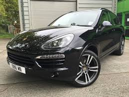 porsche cayenne blacked out used porsche cayenne black for sale motors co uk