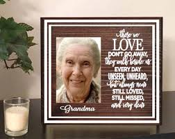 remembrance picture frame remembrance gift heaven quote memorial quote memory