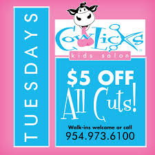 cowlicks kids salon quality haircuts and great customer service