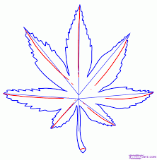 how to draw a pot leaf step by step tattoos pop culture free