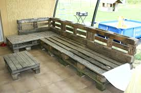 construire canapé d angle canape interieur en palette avec canape canape angle palette comment