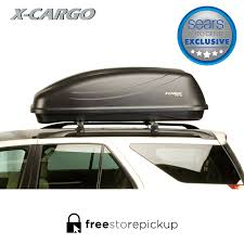 2013 Kia Sportage Roof Rack by X Cargo Sport Black 90035p 20 Cu Ft Car Top Carrier