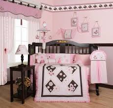 Brown And Pink Crib Bedding Geenny Pink Brown Butterfly 13pcs Crib Bedding Set
