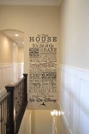 Disney Home Decorations by We Do Disney Disney Wall Decal Quote Wall Decal Vinyl Wall