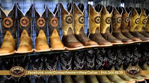 Country Western Clothing Stores Gomez Western Wear Dallas Botas Para Dama Y Caballero Youtube