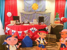 jake and the neverland pirates birthday party dessert table