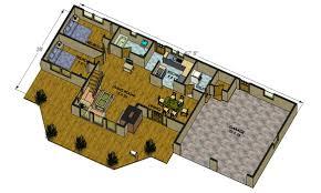 log home floor plans with garage big delta log cabin floorplans
