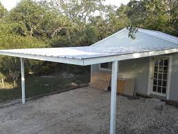 cotulla texas attached custom all steel carport carport patio