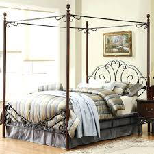 Wood Canopy Bed Frame Queen by King Wrought Iron Bed Frame Wood Canopy Bed Frame Queen For