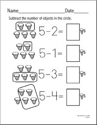 subtraction simple subtraction worksheets free printable free