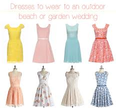 wonderful dresses to wear to a beach wedding guest and dresses to