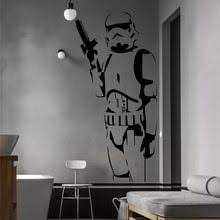 star wars living room diy star wars character wall stickers suitable for the living room